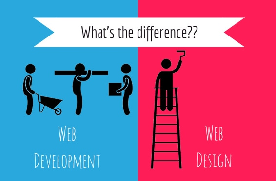 Website design vs Website development