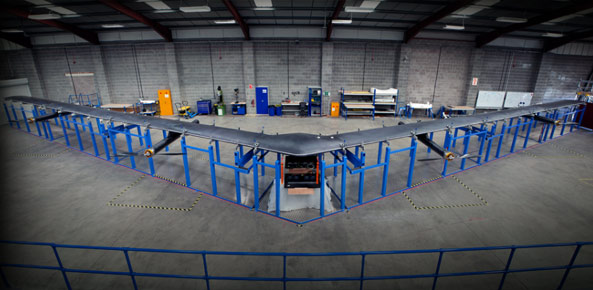 Facebook's First Internet Drone Ready To Soar
