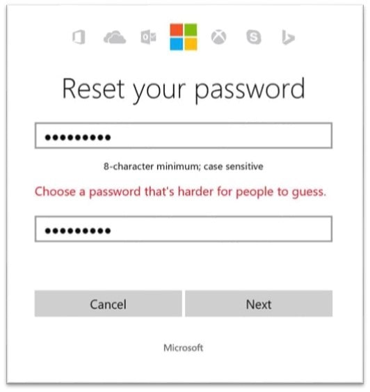 Microsoft is banning your stupidly easy-to-guess password