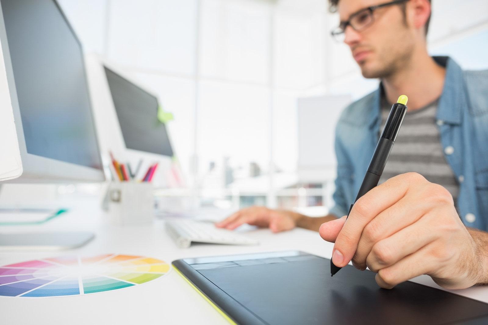 Graphic Designer Digital Platforms Website Design