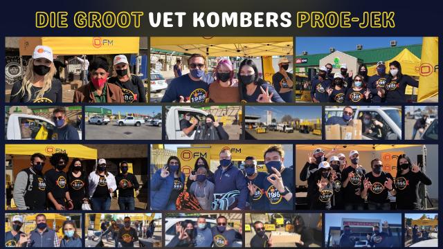"""Groot Vet Kombers Proe-kjek"" rises to occasion – R450k in Charity!"